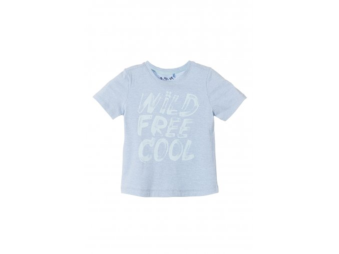 Chlapecké modré tričko krátký rukáv s nápisem