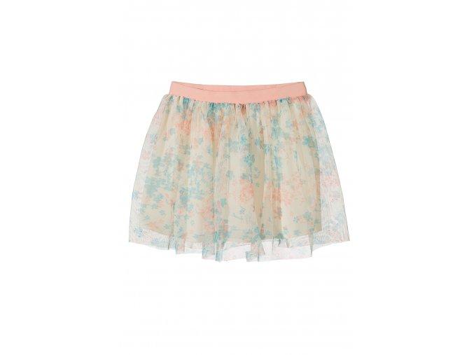 Kojenecká sukně s kytičkovým tylem