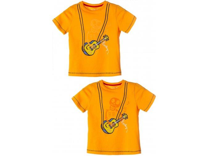 Chlapecké tričko krátký rukáv s reflexním potiskem