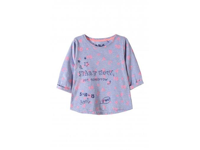 Dívčí tričko 3/4 rukáv s potiskem