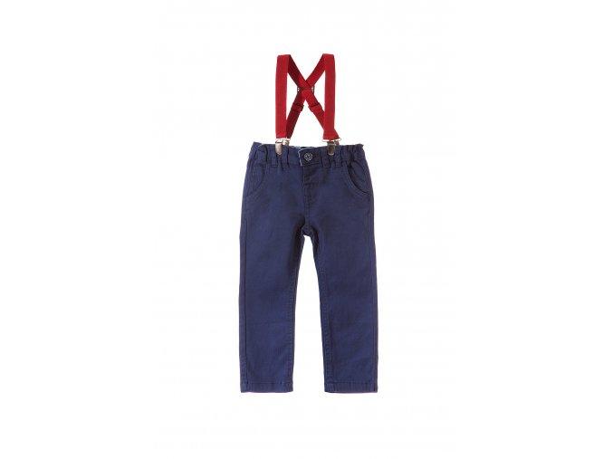 Chlapecké džínové kalhoty s kšandami