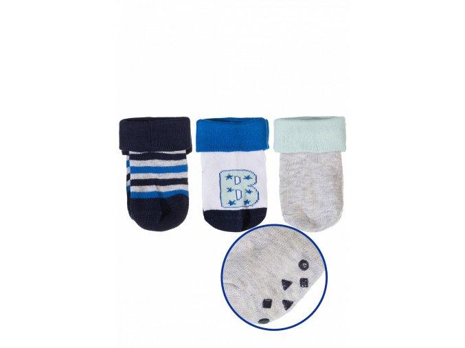 Mix kojeneckých ponožek - 3 páry