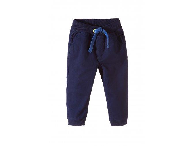 Chlapecké kalhoty s gumou v pase i na nohavicích