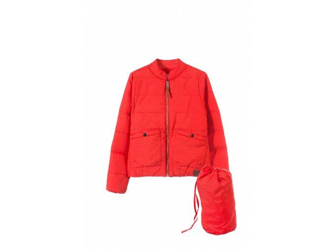 Dívčí přechodová bunda (bomber)
