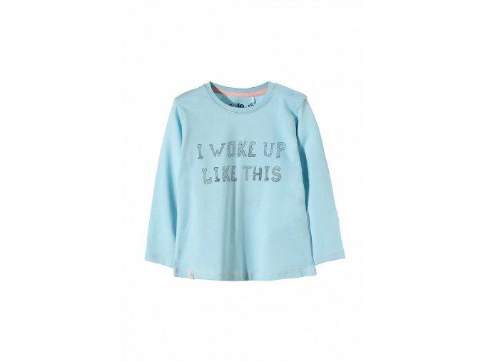 Kojenecké tričko dlouhý rukáv s potiskem