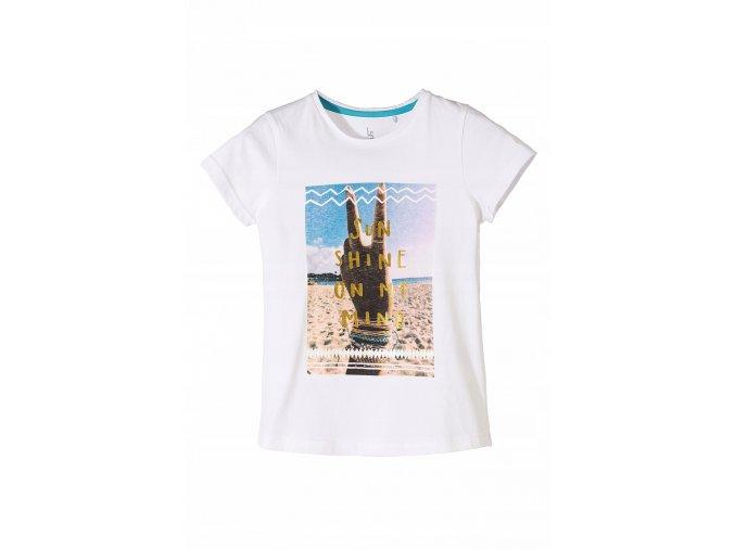 Dívčí tričko krátký rukáv Sunshine