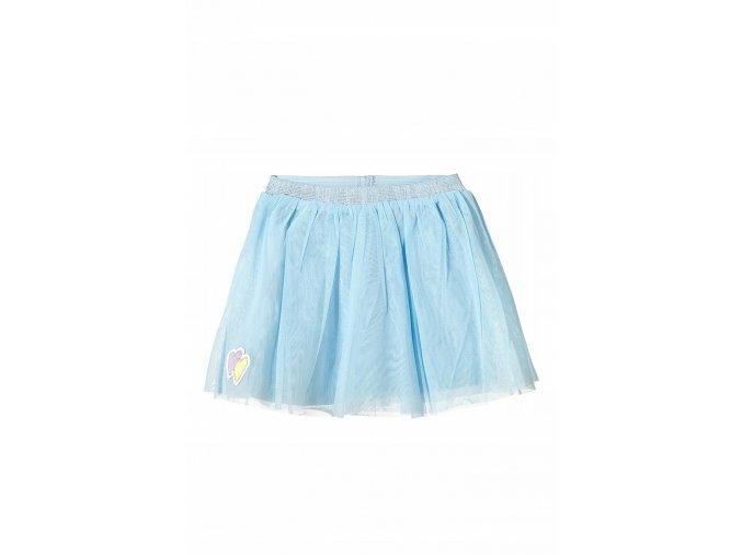 Kojenecká modrá sukně s tylem