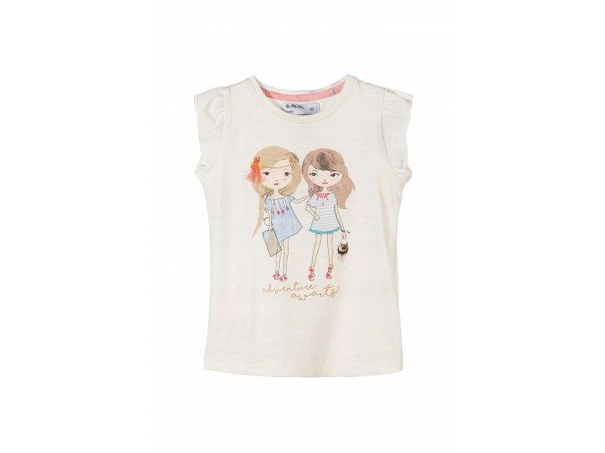 Dívčí tričko krátký rukáv Kamarádky