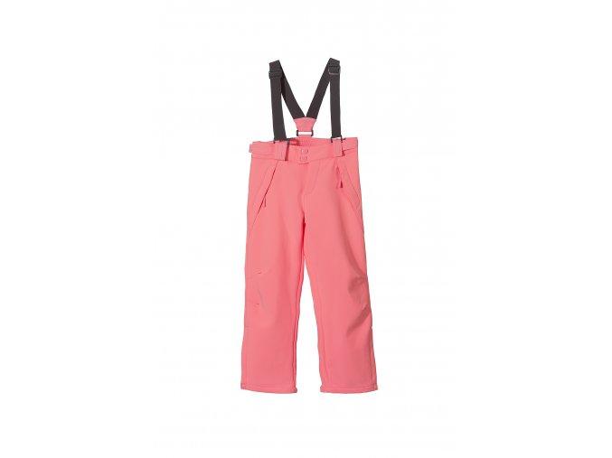 Dívčí růžové lyžařské kalhoty