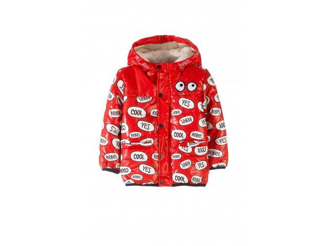 Kojenecká zimní bunda s kapucí