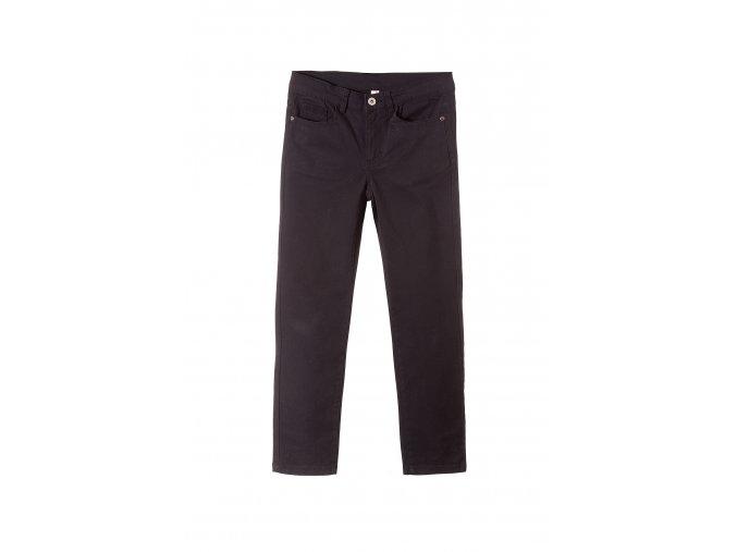 Chlapecké kalhoty bavlněné s elastanem