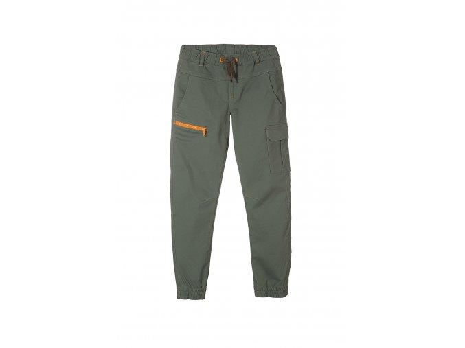Chlapecké kalhoty s gumou dole