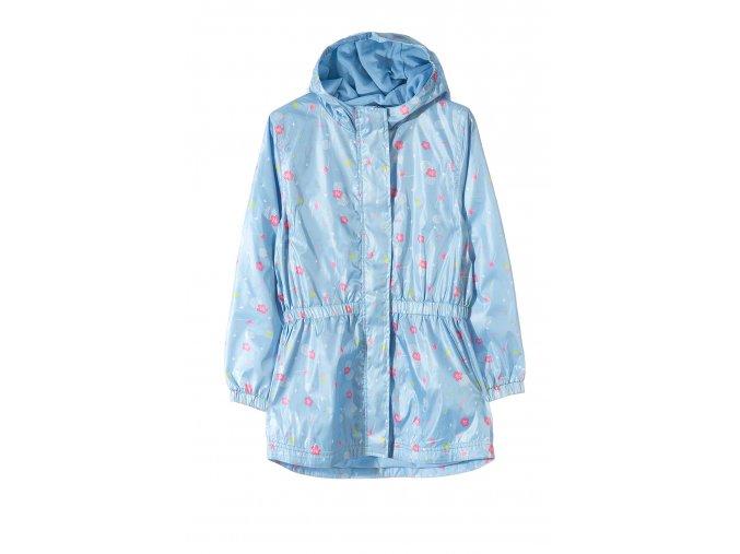 Dívčí bunda parka s kapucí (větrovka)