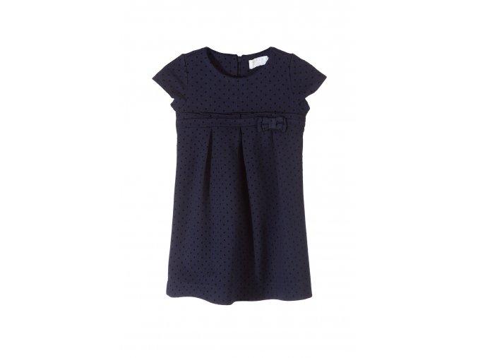 Dívčí společenské šaty tmavě modré