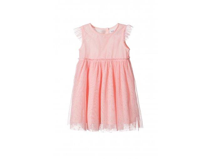 Dívčí šaty s tylovou sukní
