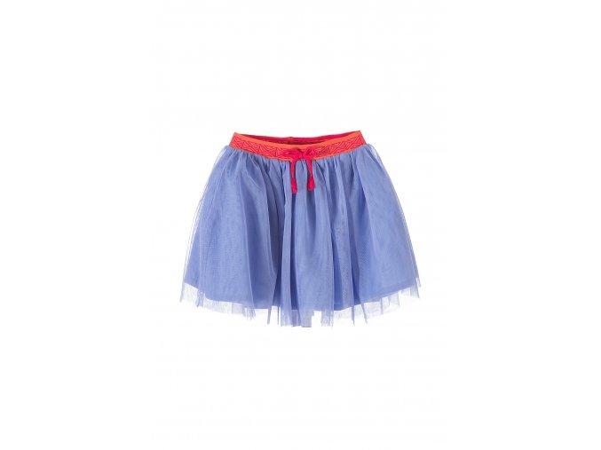 Dívčí fialová sukně s tylem