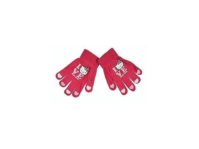 Dívčí rukavice Hello Kitty (různé barvy)