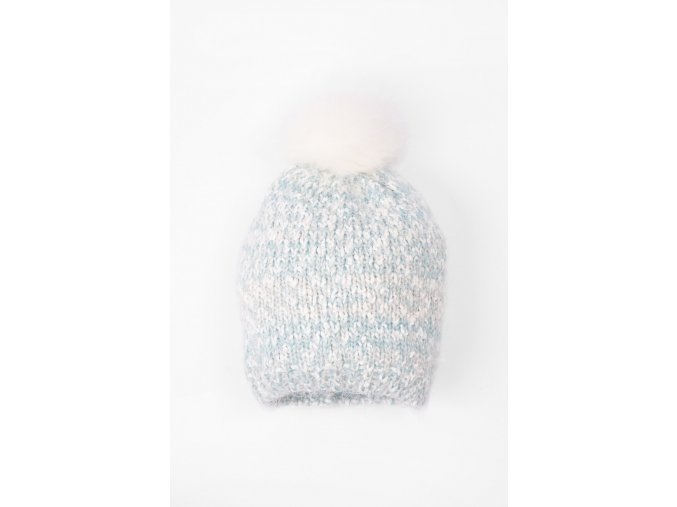 Dívčí zimní čepice s podšívkou