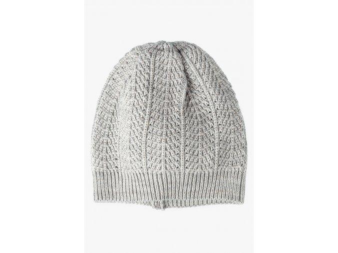 Dívčí pletená čepice jaro & podzim