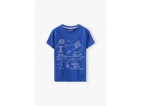 Chlapecké tričko krátký rukáv Sea Adventure