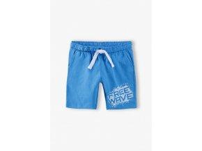 Chlapecké modré kraťasy s kapsami Free Wave