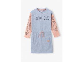 Dívčí mikinové šaty