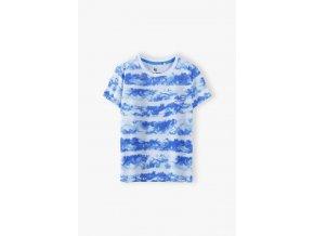 Chlapecké tričko krátký rukáv s batikovaným efektem