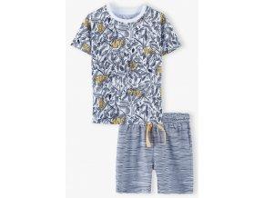 Chlapecké pyžamo krátký rukáv Tygříci