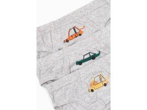 Chlapecké šedé slipy - 3 kusy v balení