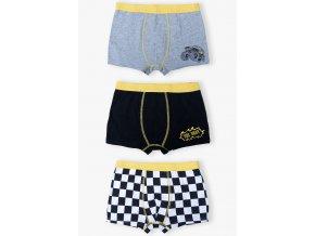 Chlapecké boxerky The best - 3 kusy v balení