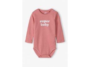 Bodyčko dlouhý rukáv Super Baby