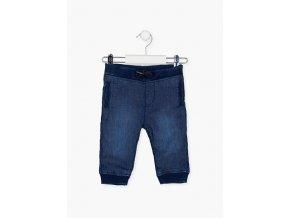 Kojenecké džíny s kapsami a pružnými lemy