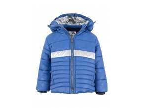 Chlapecká zimní bunda s odepínací kapucí a flísovou podšívkou