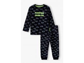 Chlapecké pyžamo dlouhý rukáv Auta
