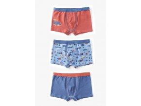 Chlapecké boxerky Vláčky - 3 kusy v balení