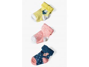 Kojenecké ponožky Zvířátka - 3 páry v balení