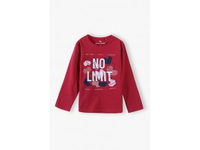 Dívčí tričko dlouhý rukáv NO LIMIT