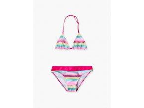 Dívčí plavky dvoudílné (Barva Růžová, Velikost 134/140)