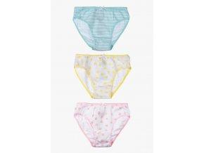Kalhotky s potiskem - 3 kusy v balení (Barva Mix barev, Velikost 134/140)