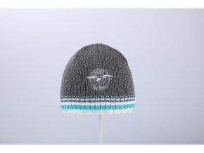 Pletená čepice (Barva Modrá, Velikost 52/54)