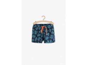 Dívčí šortky s potiskem (Barva Modrá, Velikost 134)