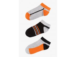Krátké ponožky - 3 páry v balení (Barva Mix barev, Velikost 30/32)