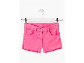 Dívčí džínové šortky (Barva Růžová, Velikost 134/140)