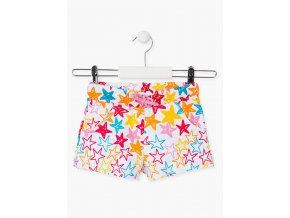 Dívčí šortky s potiskem (Barva Mix barev, Velikost 92)