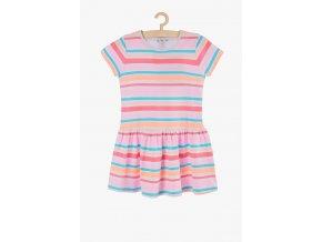 Letní šaty s rukávkem (Barva Mix barev, Velikost 104)