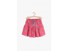 Bavlněná sukně s potiskem (Barva Růžová, Velikost 110/116)