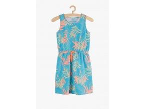 Letní šaty s potiskem (Barva Zelená, Velikost 134)