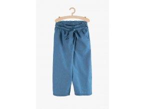 Volné kalhoty s vázačkou (Barva Modrá, Velikost 134/140)