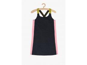 Sportovní letní šaty bez rukávů (Barva Šedá, Velikost 134)