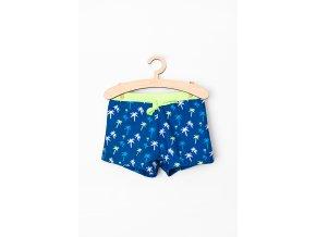 Chlapecké plavky s potiskem (Barva Modrá, Velikost 110/116)